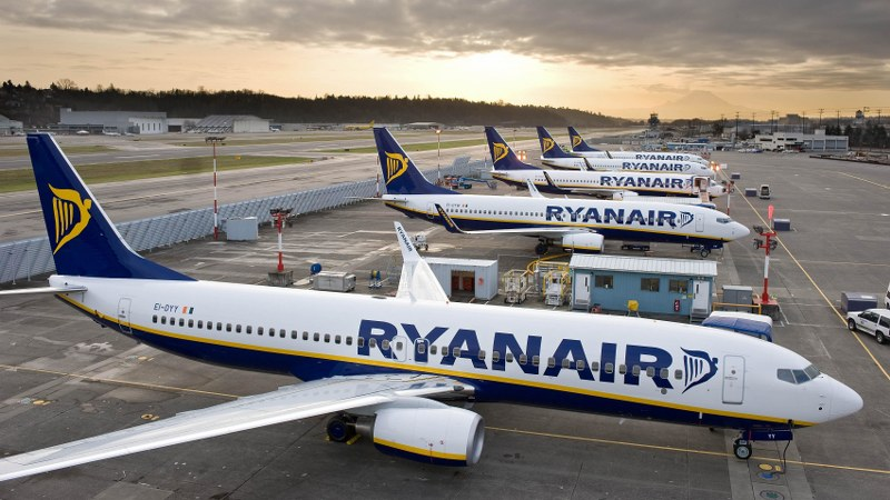 Ryanair: il top dei voli low cost