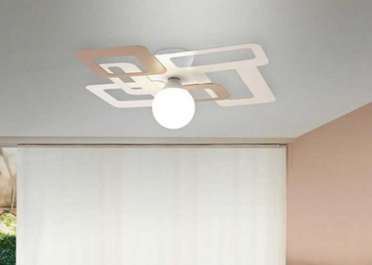 Scegliere le plafoniere moderne per arredare e illuminare la casa