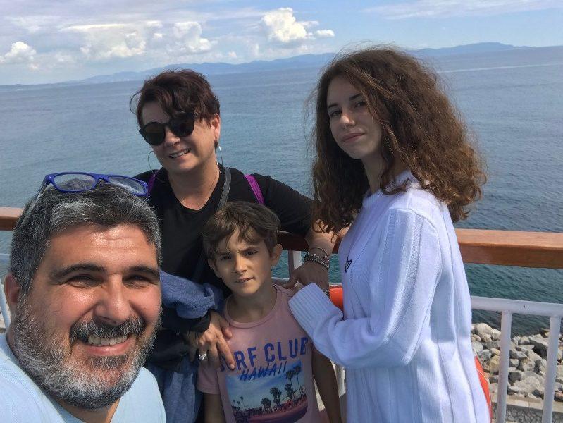 Famiglia in fuga: si ma per vacanza